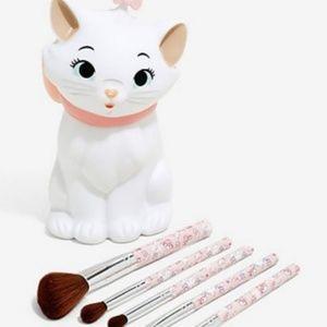 """Disney Aristocrats """"Marie"""" Makeup Brush Set NEW"""